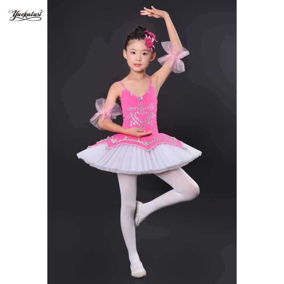7371d02ec 2019 Professional Ballet Tutu Child Swan Lake Costume Blue Pkin Ballet Dress  For Children Pancake Tutu Girls Dancewear From Honry, $42.08 | DHgate.Com