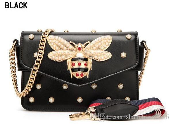 New Gucci Crossbody bag Women Colorful splicing Little Bee Bags Design  Handbag Female Shoulder Bags Messenger Bag