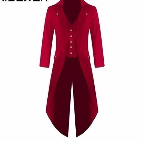 e8d16ad8421 2019 Long Blazer Jackets Autumn Fashion Solid Club Windbreaker Retro  Wedding Jackets Coat Plus Size 4XL 3XL Online with  16.8 Piece on Jerry07 s  Store ...
