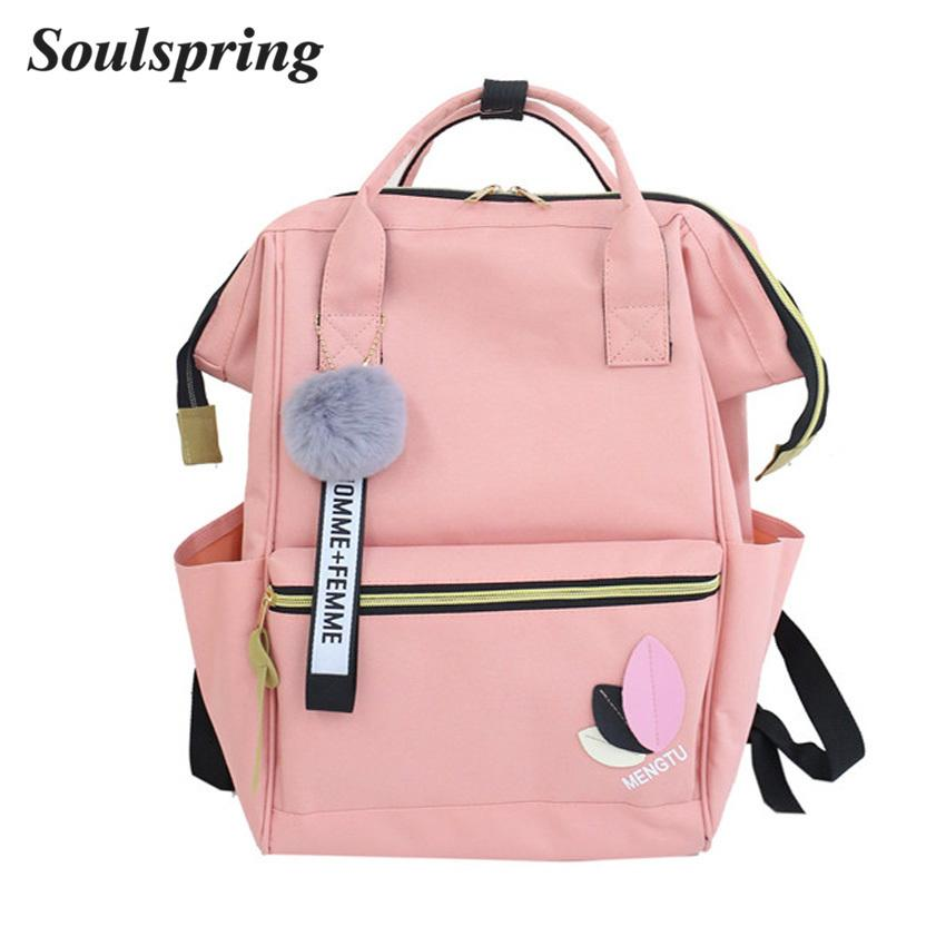 66c6ddb90d19 2019 FashionWomen Waterproof Nylon Backpacks Female Rucksack School Backpack  For Girls 2018 Fashion Travel Bag Bolsas Mochilas Sac A Dos Tactical  Backpack ...