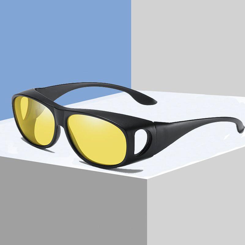 be747ca5fe52f Coating Sunglasses Night Driving Eyewear Anti Glare Wear Glasses Fit Over  Prescription Glasses Wrap Around Yellow Lens S3009 Designer Glasses  Sunglasses Uk ...