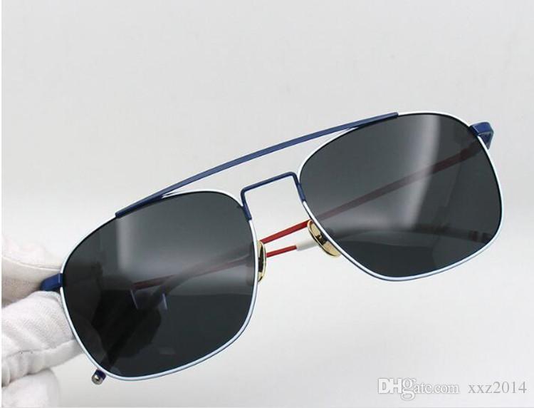 ecd725caf0e Newest T103 Light-weight Metal Polarized Sunglasses UV400 Male Rectangular  Frame58-18driving Fishing Googles Full-set Case Glasses High-quality  Euro-Am Male ...