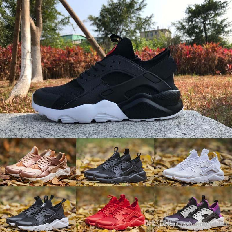 on sale 37fa2 66c18 Designer Huarache Ultra Casual Shoes For Men Women Triple White Black Red  Grey Mens Womens Huaraches Trainers Sports Shoe Sneakers