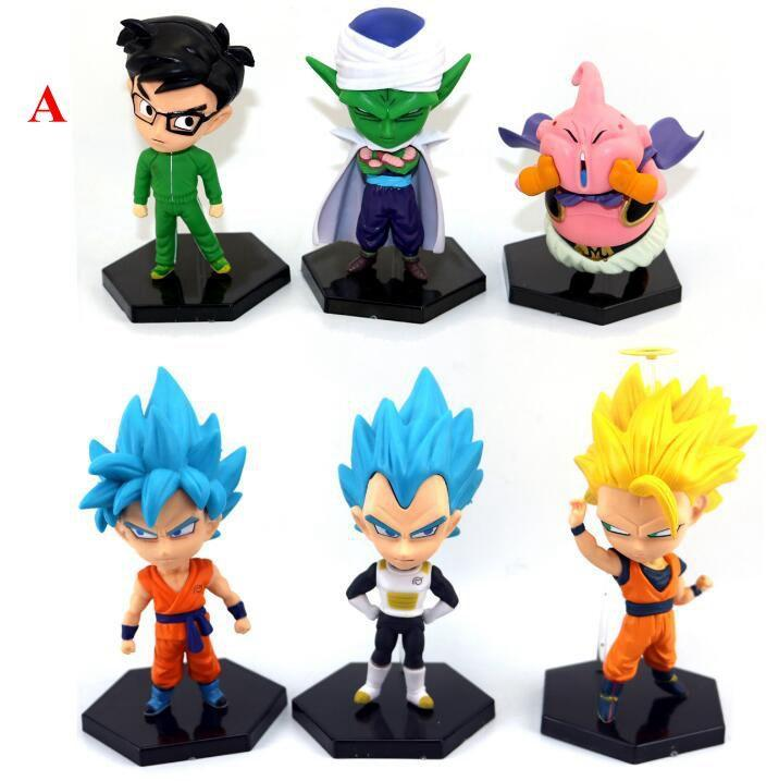 10 14cm Dragon Ball Z Action Figure Super Saiyan Son Gohan Figures Master Dragonball Collectible Model Novelty Items CCA11309 Birthday Gifts