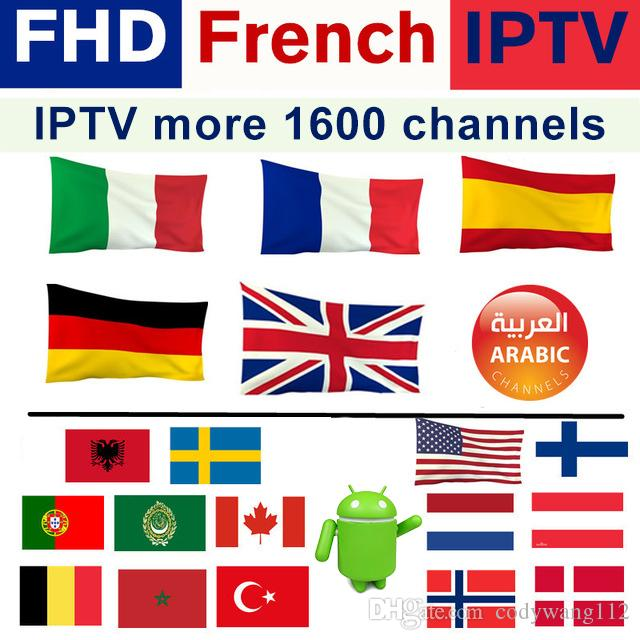 abonnement iptv for Android TV Box 4K thousands tv channels IPTV  Subscription USA CANADA Spain France Portugal Arabic UK IT and so on