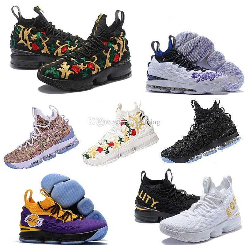 1aa126b45643 2019 Newest Ashes Ghost Lebron 15 Basketball Shoes Lebrons Shoes Sneakers  15s Mens James Sports Shoes 15 Shoes Online with  57.94 Piece on  Vipsporting s ...