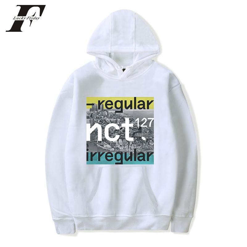 0f96a96ecce 2019 BTS Harajuku NCT 127 Regular Album Hooded Sweatshirt K POP Print Cotton  Men Hoodie Tops Hoodies Coat Clothes Plus Size From Buttonline