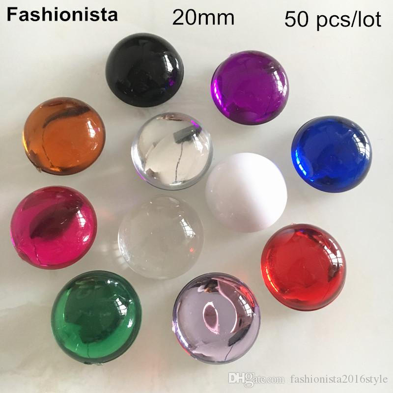 25 or 50 BRIGHT MIXED COLOURED Acrylic Ring Blanks,14mm Childrens Findings UK