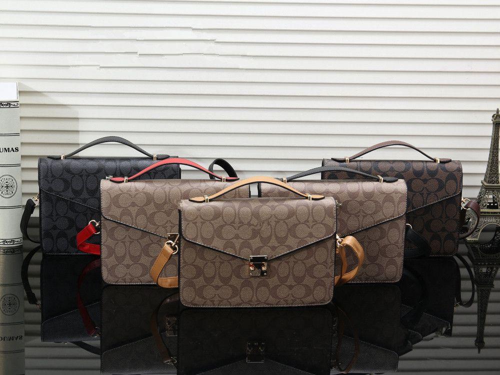 30cb5546e Compre Novo Designer De Venda Quente Sacos De Ombro Couro Sintético Moda  Feminina Flip Capa Bags Crossbody Bag Mensageiro Pequeno Bolsa Sacos De ...