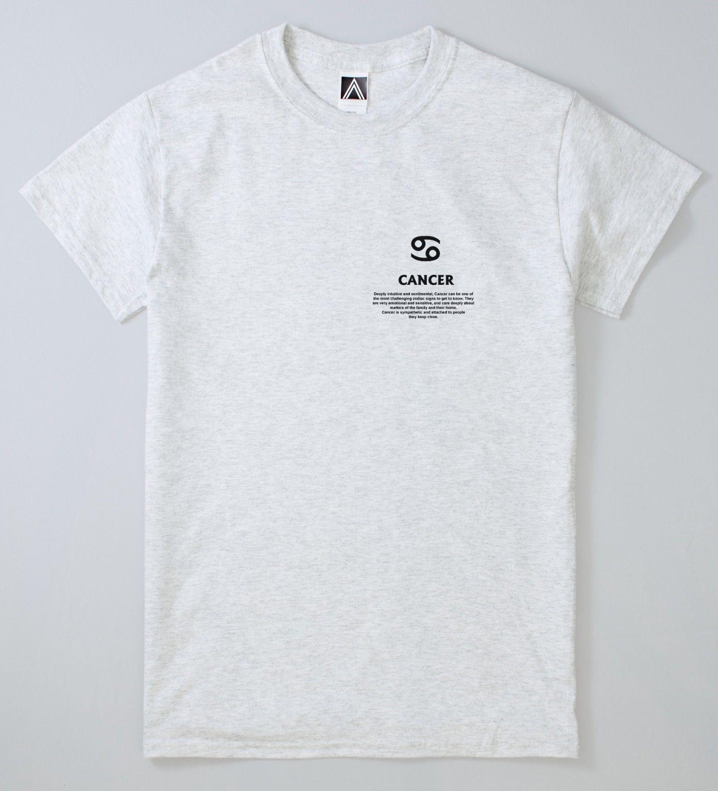 18df3d12 Cancer Zodiac T Shirt Crab Feelings Magic Tee Astrology Birthday Chart  TopShort Sleeve Plus Size T Shirt Colour Jersey Print T Shirt Be Awesome T  Shirt ...