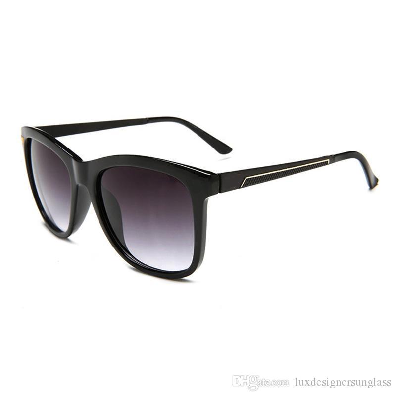4059bad2ac Women Men Luxury Designer Sunglasses With Stamp UV Protection Square Full  Frame Brand Sunglasses For Travel Driving Tifosi Sunglasses Cheap  Eyeglasses ...