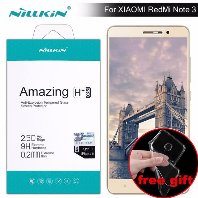 info for 2909c 3d638 Case Gift ) Redmi Note 3 Screen Protector Nillkin Amazing H / H+pro  Tempered Glass For Xiaomi Redmi Note 3 Pro Redmi Note 3 Film J190505
