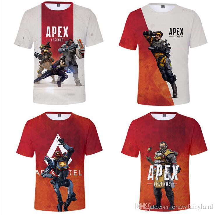98720c364 2019 Kids Designer Clothes Girls Baby Boy Clothes Apex Legends ...