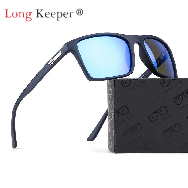 715024628b Long Keeper Polarized Sunglasses Men Women Sun Glasses Classic Retro Square  Frame UV400 HD Lens Eyeglasses Eyewear Drive Fashion Sunglasses Cheap  Sunglasses ...