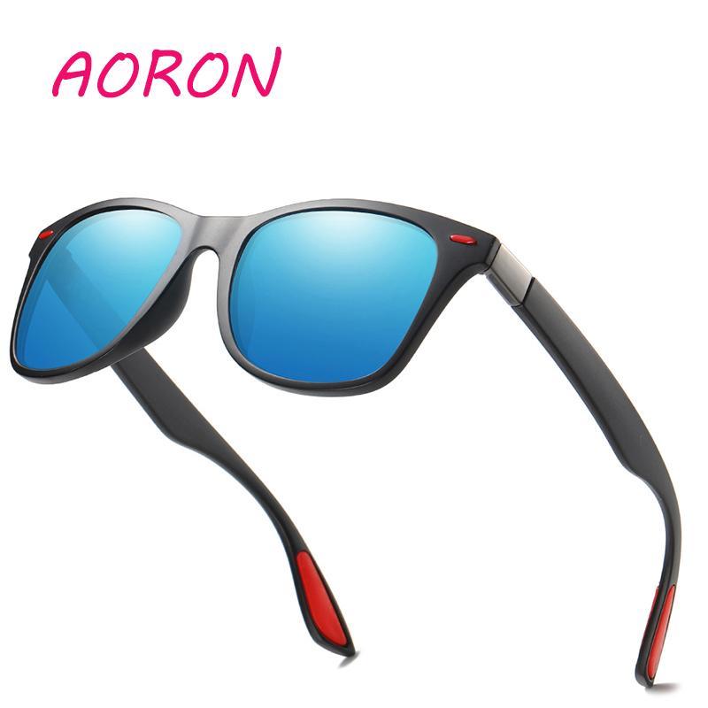 20e758bf07 AORON Classic Polarized Sunglasses Men Women Driving Climbing Fishing  Square Frame Sun Glasses Male Goggle UV400 Gafas De Sol Polarised Sunglasses  Baby ...