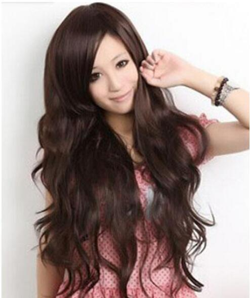 Stylish Fashion Sexy Long Wavy Women S Hair Fancy Dress Wig Hairpieces And Wigs  Wig Makers From Dingyingying68687 06ec6d9d08
