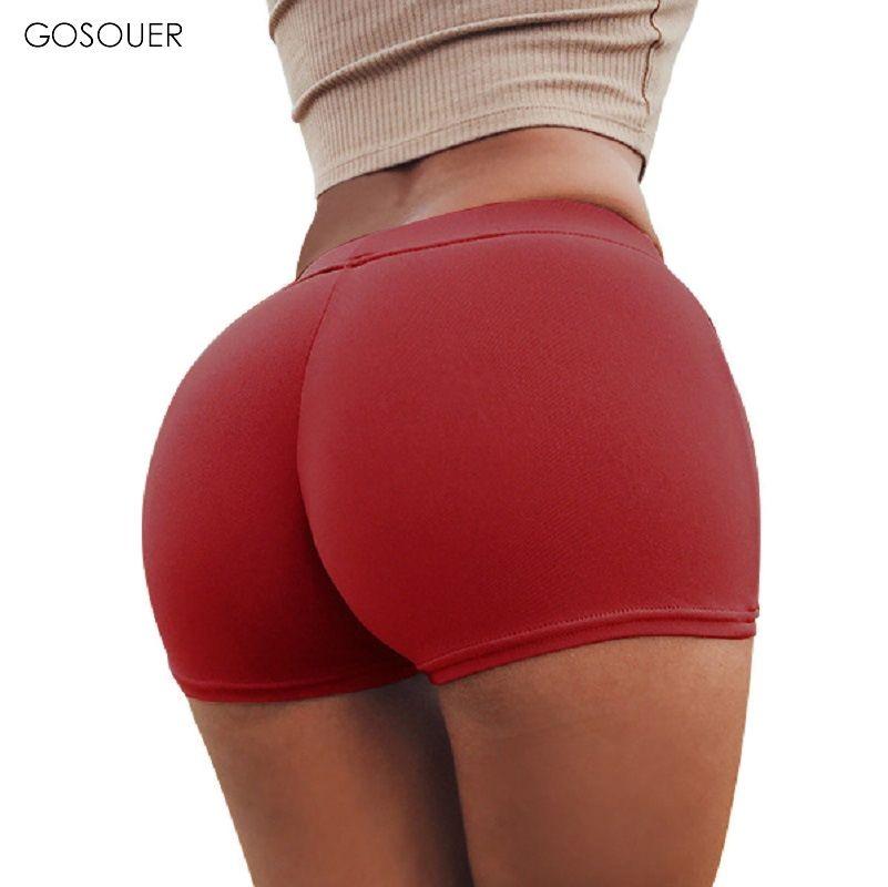 Женские сексуальные попки в тонких шортах