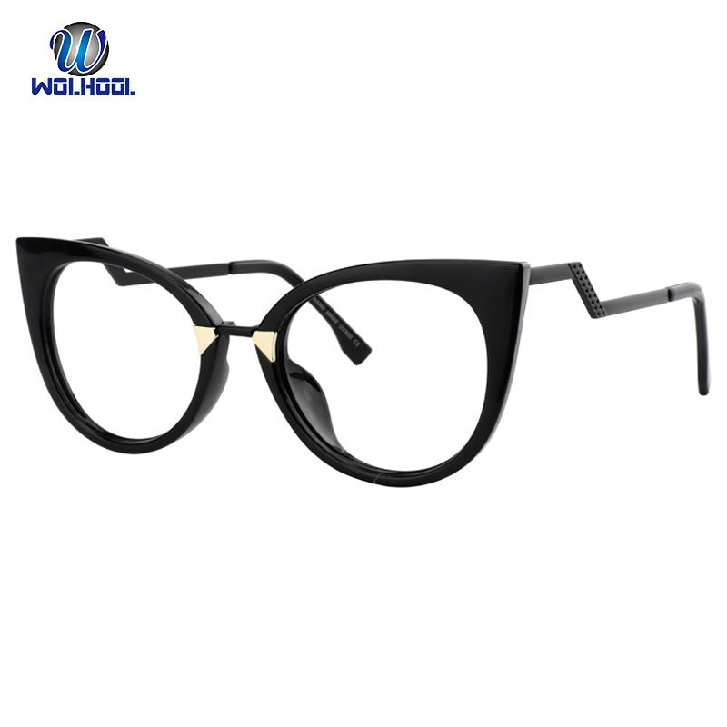 805ec8a0df 2019 Fancy Sexy Lady Cat Eye Women Optical Glasses FrameSpectacles Eyewear  Optical Eye Glasses Frames Black Red Pink Eyeglasses Frame From Naughtie