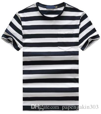 af0777758cc1 Supply Fashion Men Striped Polo T Shirts America Style Boys Casual T Shirt  Small Pony Embroidery O Neck Sport Tees Tops Red White Purchase T Shirts  Silly T ...