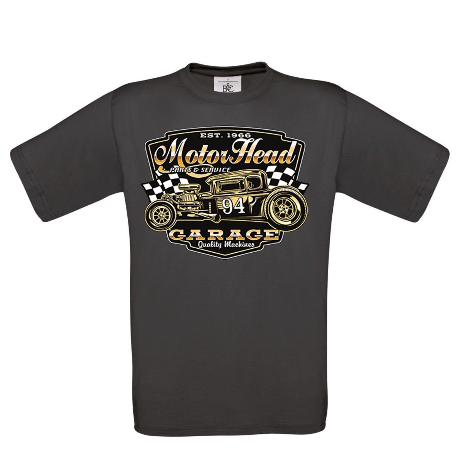 f922cab2212 Image 1 Source · Uomo Hotrod 58 Hot Rod T Shirt American Motorhead Garage  Rat Auto D