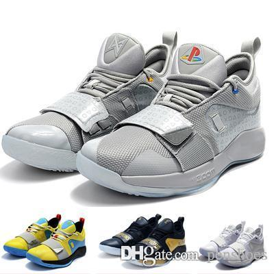 new style f2905 ef3f4 Hot PG 2.5 Moon Sneakers shoes for sale Top Quality Play Station Casual  shoe store With Box free shipping US7-US12