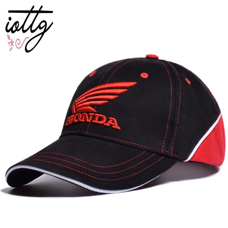 cf7a9b9e IOTTG 2019 Racing Cap 3D Embroidered Racing Car Cap Motorcycle Baseball  Snapback Sun Hat Men Women Hat Kids Hats Ball Caps From Zhijin, $44.83|  DHgate.Com