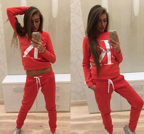 18 autumn and winter brand new style European and American brand design sportswear, ladies' wear, women's clothing