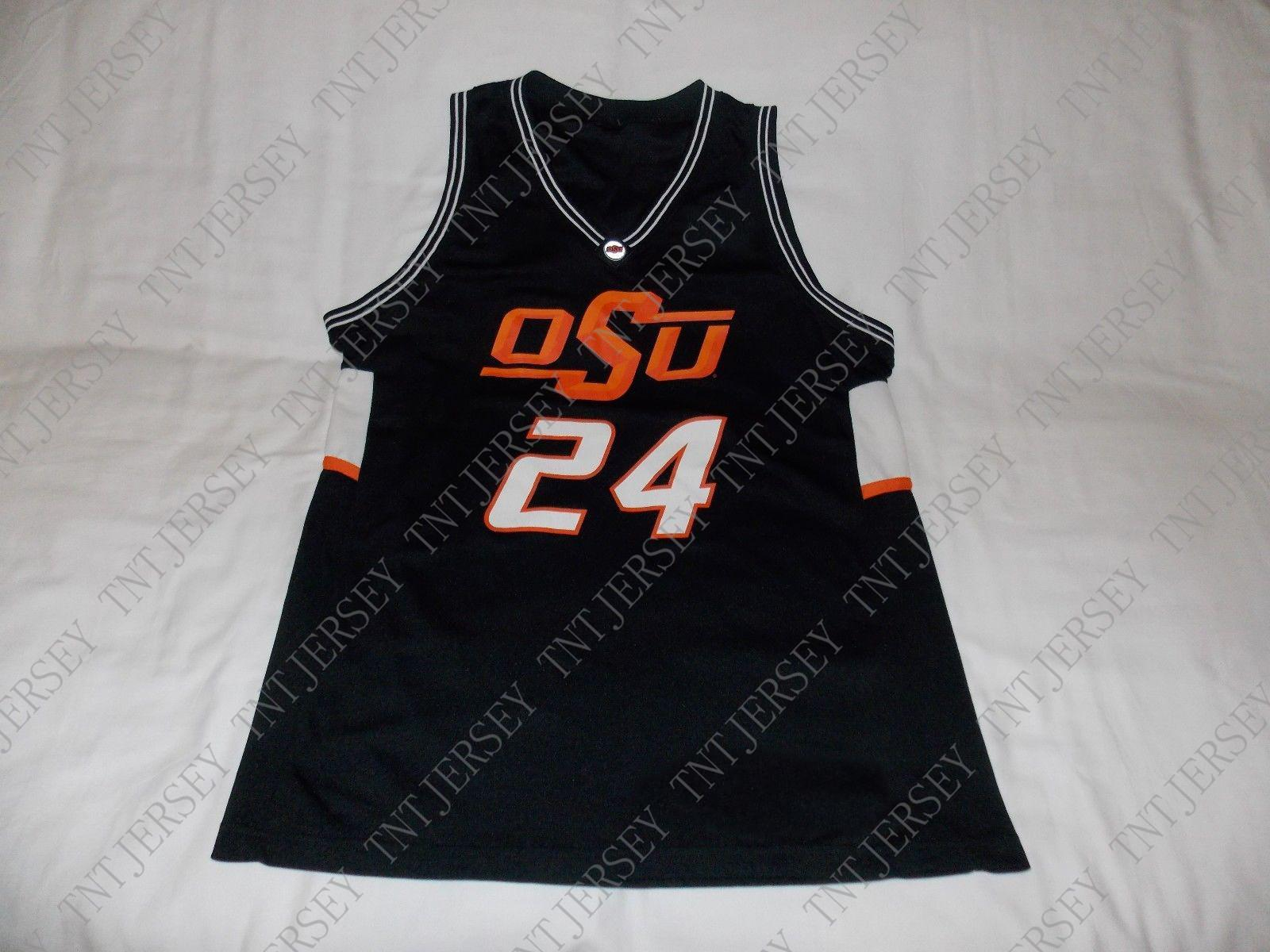 9ebb97eee 2019 Cheap Custom OSU Cowboys Basketball Jersey  24 Stitched Customize Any  Number Name MEN WOMEN YOUTH XS 5XL From Tntjersey