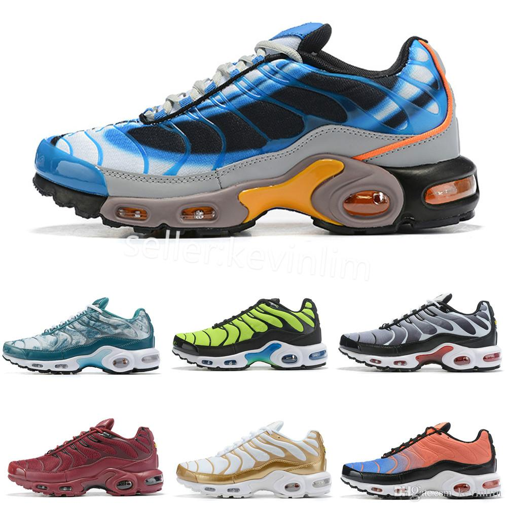 nike TN plus air max airmax Chaussures tn Ice Blue Drake Homme tn 2019 World Cup tn plus SE QS Zapatos para correr para hombre Tamaño 7 12