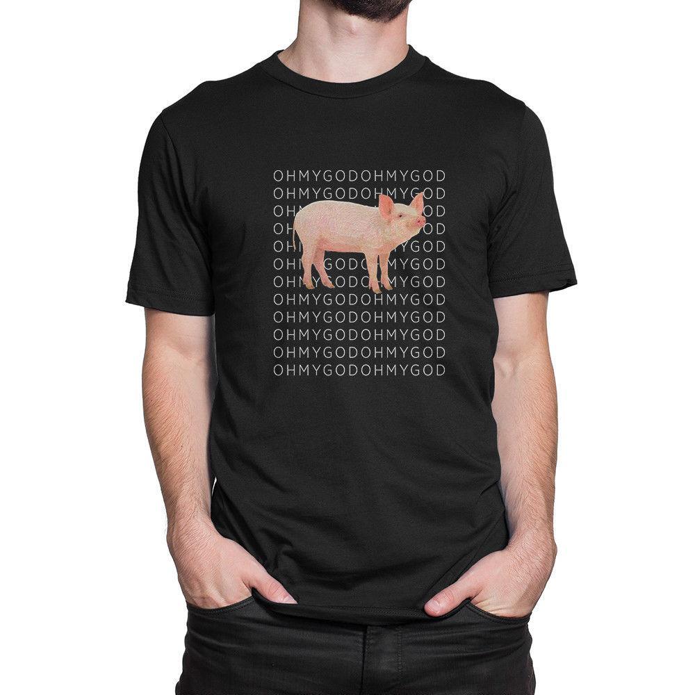 decfe3832b Shane Dawson Oh My God Pig Black T Shirt Tees Clothing Funny Unisex Casual  Tshirt Top T Shirts Shopping Online T Shirts Sites From Redleaderclothing,  ...
