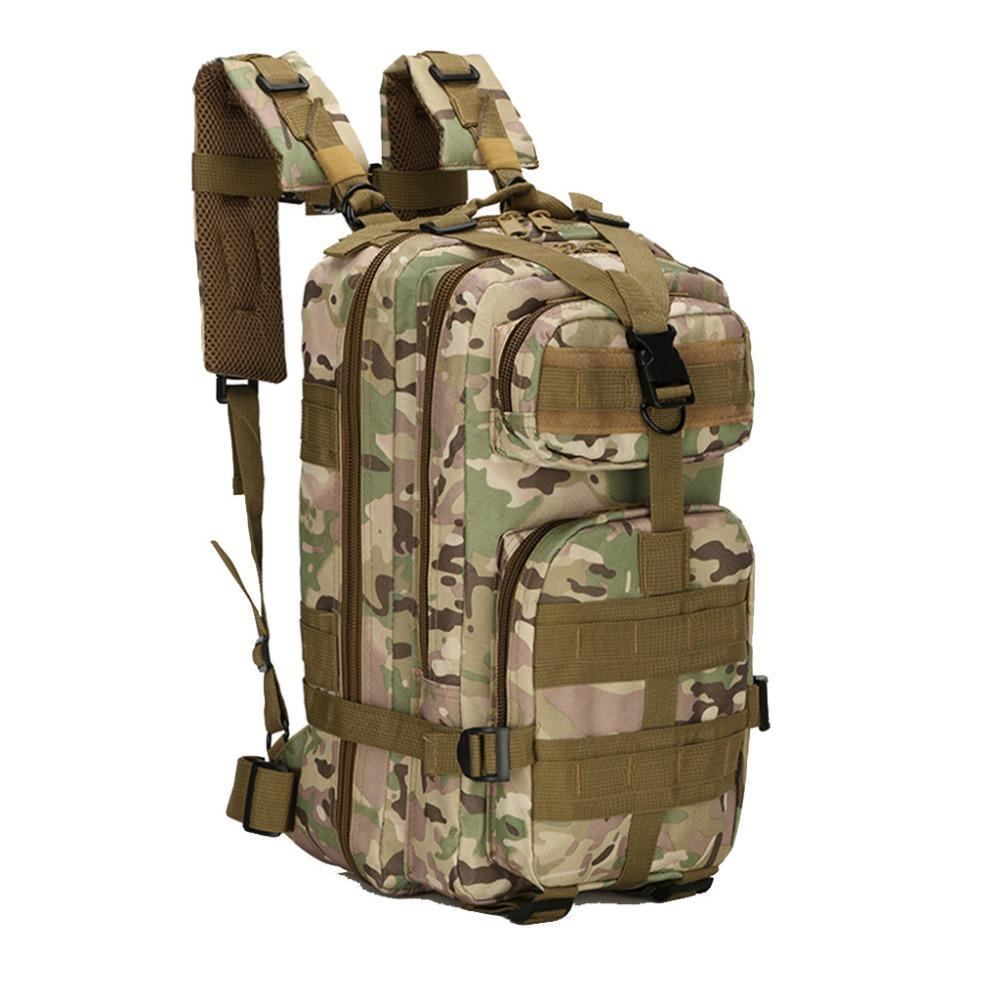b581d8536d5a New Waterproof Backpack Pack Sports Outdoor Hiking Camo Camping Tactical  Travel Bag 30L Dropshipping#0409