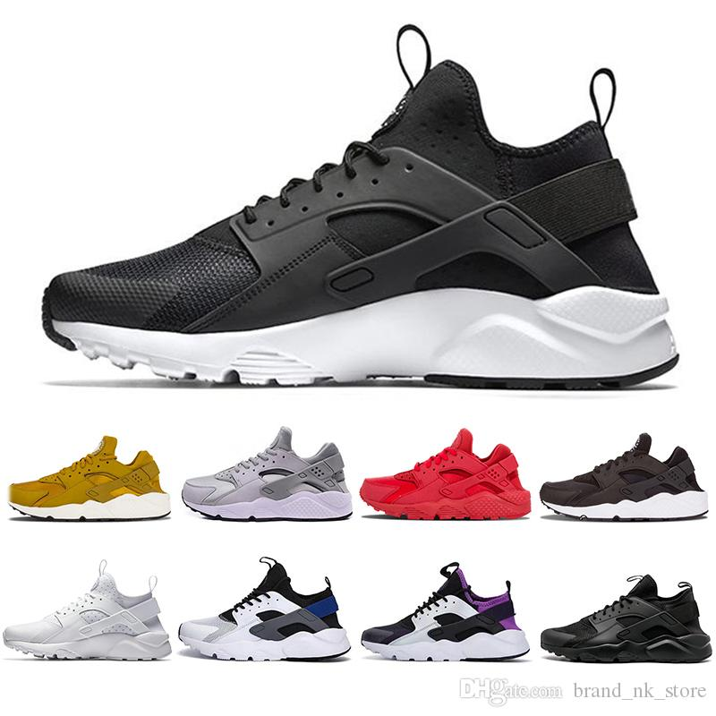 491dbfea044f New Original Air Huarache 4.0 1.0 Men Women Running Shoes White ...