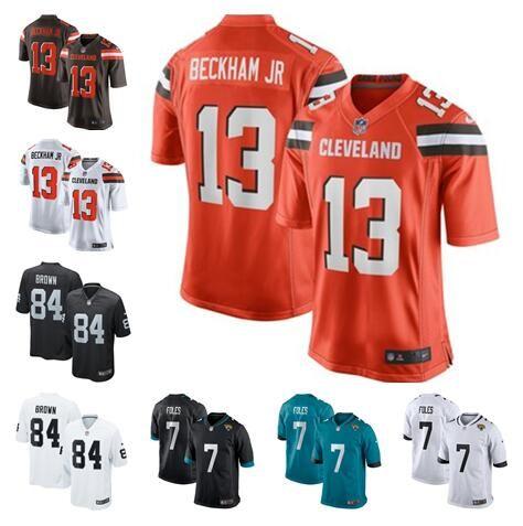 quality design b9718 7c993 Odell Beckham Jr jersey Antonio Brown Nick Foles Cleveland Oakland Browns  Raiders Baker Mayfield custom american football jerseys shirts 4xl