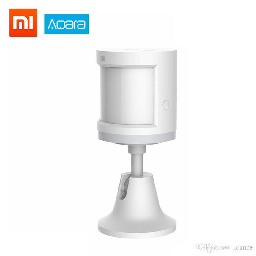 Xiaomi Aqara Human Body Sensor Light Intensity Motion Sensors ZigBee WiFi  Wireless Connection Compatible for Xiaomi Gateway 2 Work