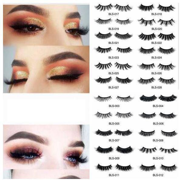 ed4dfcc3ab2 3D Eyelashes HandMade False Eyelashes Natural Lashes Full Strip Fake False  Eyes Lashes Extension Tools For Beauty KKA6718 Eyelash Extension Kits  Eyelash ...