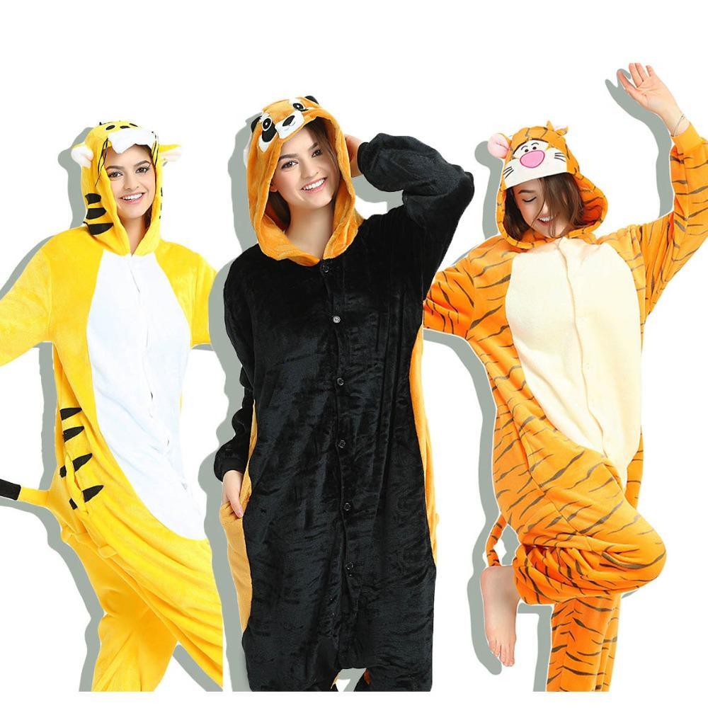 220a1627a6 Compre 2018 Adulto Unisex Mujer Hombre Pijamas Establece Invierno Pijama Onesie  Animal Cosplay Puntada Snorlax Ropa De Dormir Con Capucha Camisón Navidad A  ...