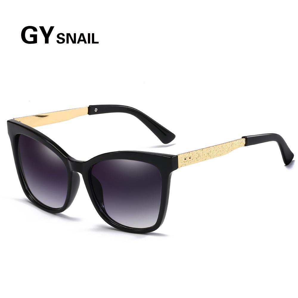 ed2bd20144a GYsna 2019 Retro Square Sunglasses Women Designer Brand Luxury Cat ...