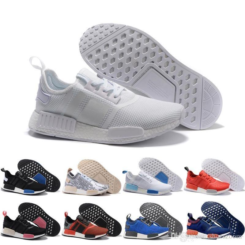 b491b3825 2019 2019 Wholesale Discount Cheap Pink Red Gray NMD Runner R1 ...