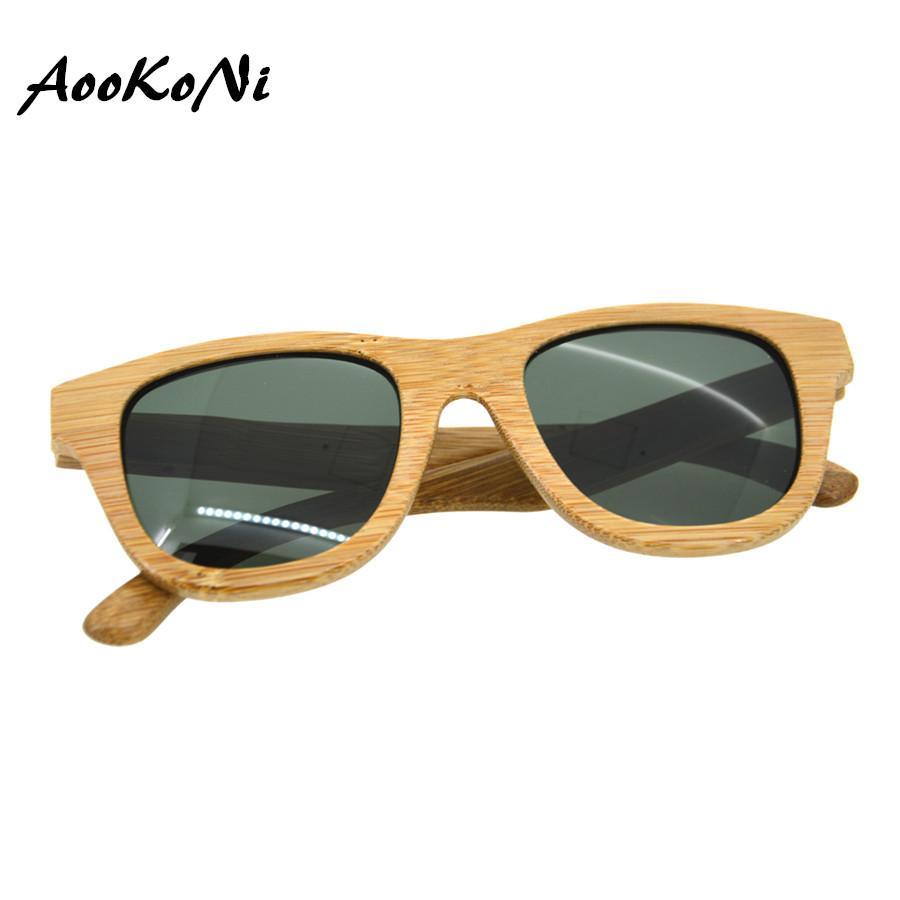 2858cc6d19 Compre 100% Real Zebra Gafas De Sol De Madera Hombres Mujeres Polarizadas  De Bambú Hechas A Mano Gafas De Sol De Madera Gafas De Sol Gafas De Sol  Madera A ...