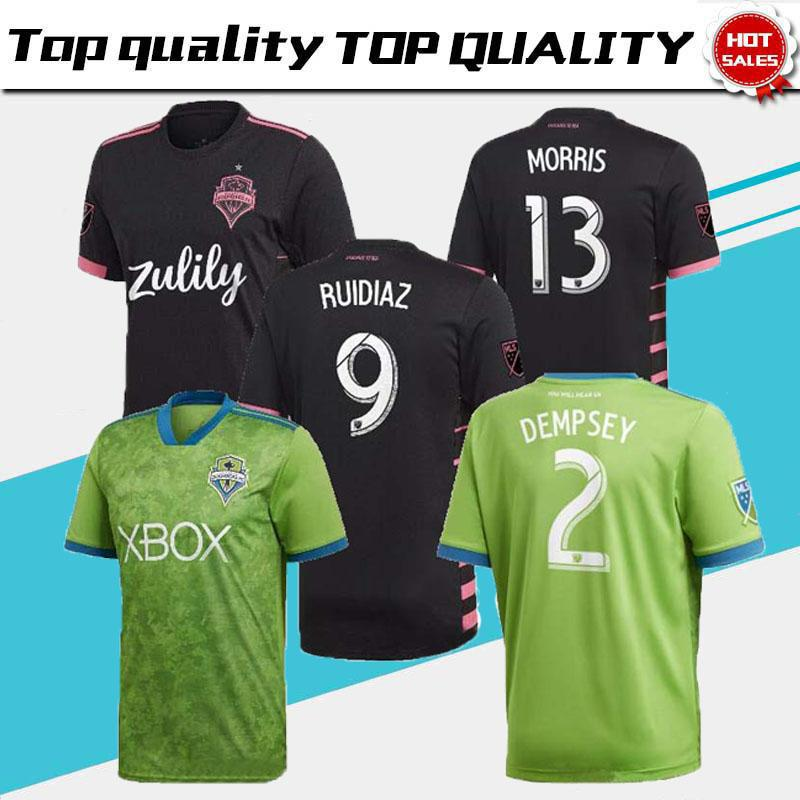 the best attitude 95bfe 51486 Thai quality 2019 2020 Seattle Sounders FC Soccer Jersey 19 20 RUIDIAZ  MORRIS DEMPSEY TORRES Football Jerseys Shirt best selling