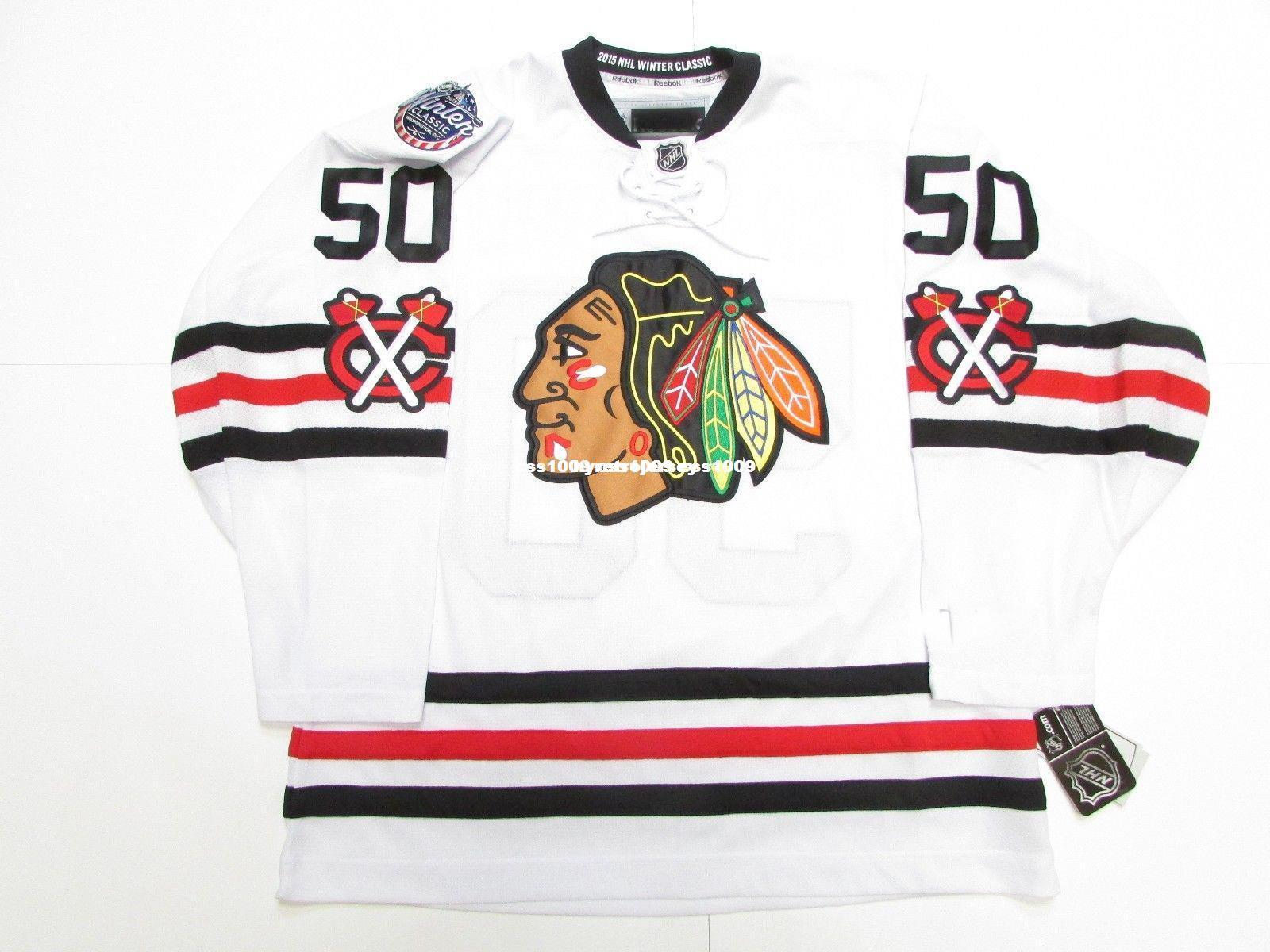 b249d3d7f Cheap Custom COREY CRAWFORD CHICAGO BLACKHAWKS 2015 WINTER CLASSIC ...