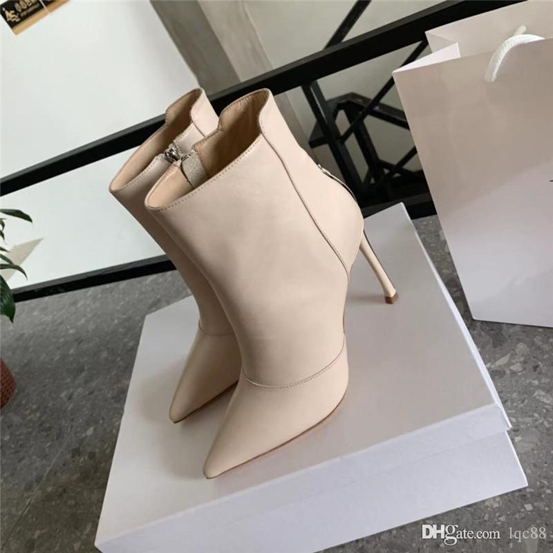 2019 autumn and winter new ladies boots shoes luxury designer shoes top quality noble luxury size 35-40