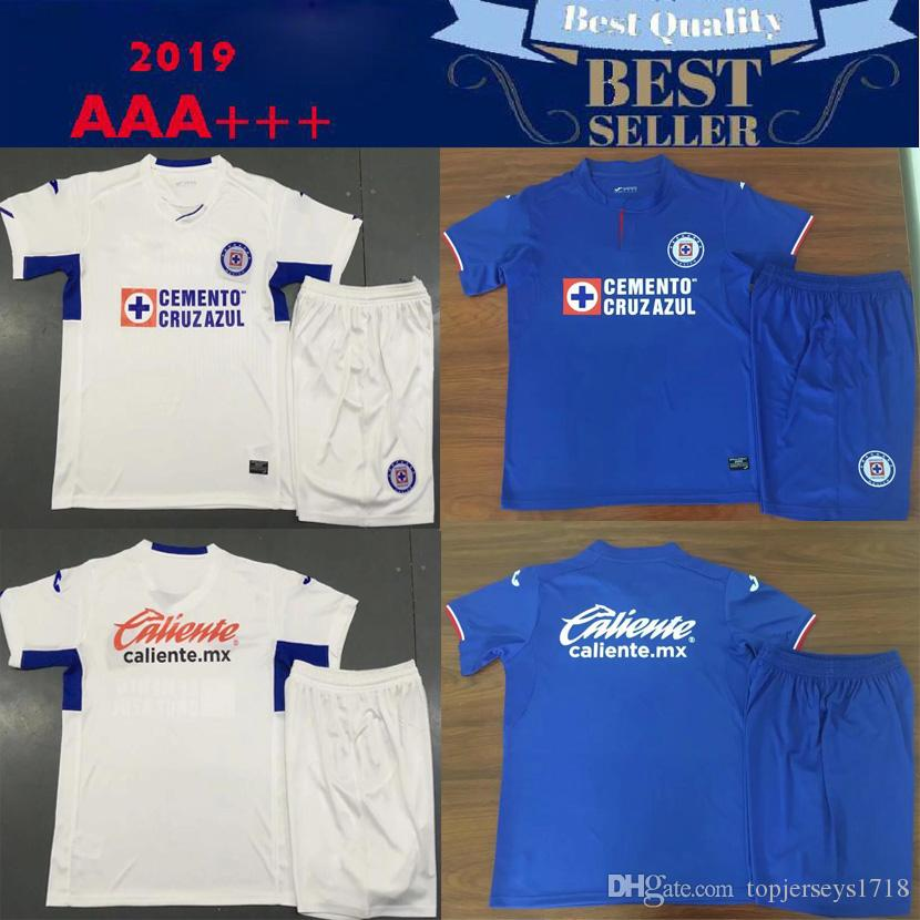 3edcda2e956 2019 2019 2020 Mexico Club Liga MX CDSC Cruz Azul Soccer Jersey Home Blue Away  White 3rd Orange Football Shirt Camisetas De Futbol From Topjerseys1718