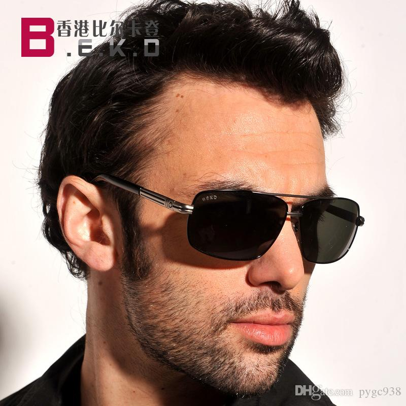 ce726d46b32 New Men S Sunglasses Polarizer 2018 Men S Polarized Frog Mirror ...