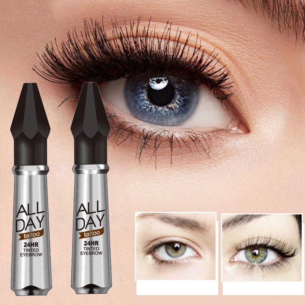 New Tattoo 24hr Long Lasting Tinted Eyebrow Gel Makeup Smudge Proof