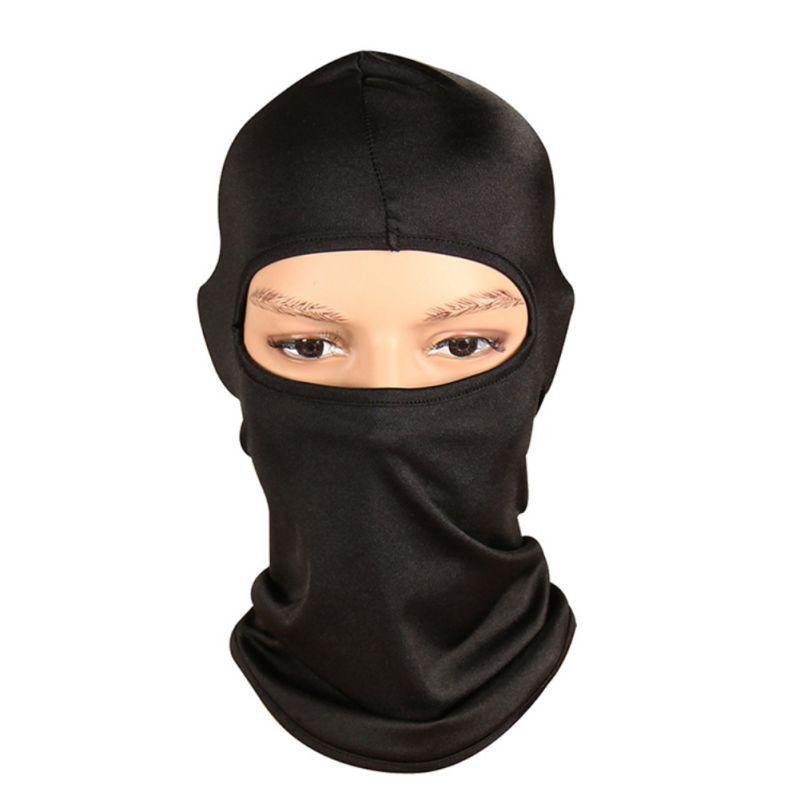 Breathable Cycling Face Mask Bike Balaclava Sunshade Dust-proof Windproof Motorcycle Riding Cap Headwear Outdoor Sportswear New
