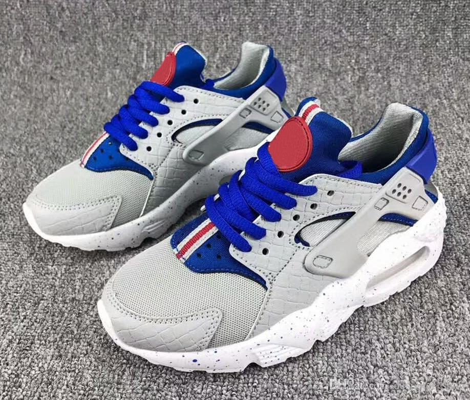 2018 Fashion Flash Lighted Kids Air Huarache Children Running Shoes Infant Huaraches Outdoor Toddler Athletic Boy & Girls Sneaker 26-35