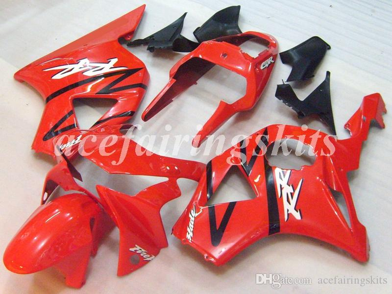 Injection Mold New ABS Motorcycle Full Fairings set Fit For HONDA CBR954RR 2002 2003 02 03 954RR CBR954 Bodywork set Red white