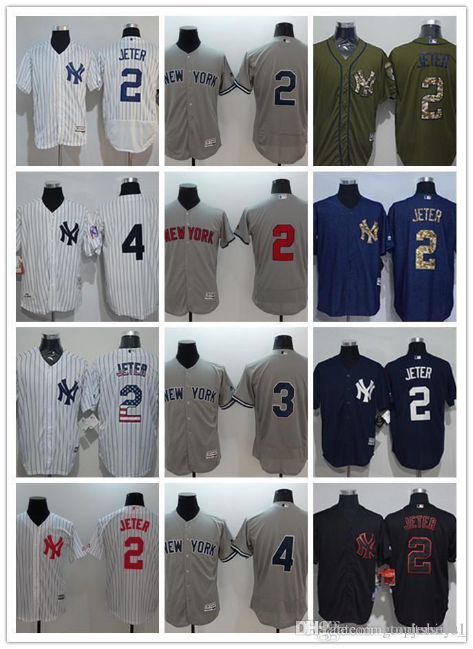 outlet store be3dc 1dca0 Custom Men Women Youth Ny Yankees Jersey #8 Yogi Berra 5 Joe Dimaggio 4 Lou  Gehrig 3 Babe Ruth 2 Derek Jeter Black White Baseball Jerseys