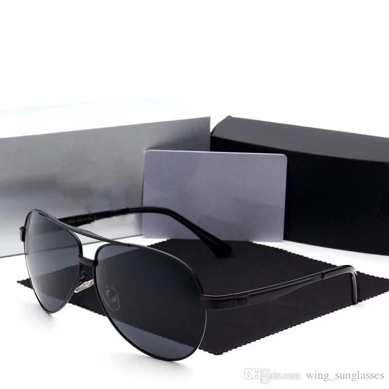 ef37a568854 Brand Mercedes Classic Men Aluminum Frame Sunglasses HD Polarized UV400  Mirror Male Sun Glasses Women For Men 737 Police Sunglasses Serengeti  Sunglasses ...